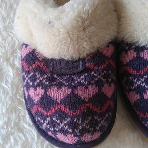 UGG Shoes - Ugg Slipper/Mules Cozy Knit Purple